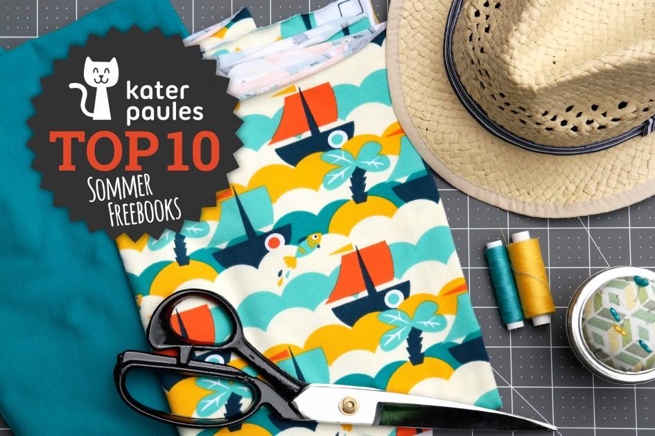 Kater Paule / Top 10 Montag / Sommer / Freebook / Freebie