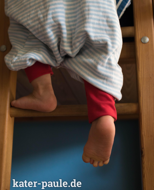 Geht nicht, gibts nicht - ein Schlafsack mit Beinen! - Kater Paule