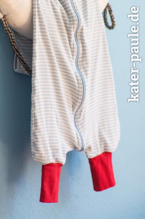 Schlafsack mit Beinen - selber nähen
