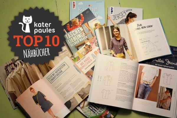Kater Paule / Top 10 Montag / Nähbücher / Sewing Books / DIY / Bücher